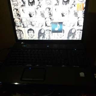 Laptop compaq 17 in