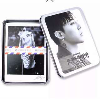 GDRAGON LOMO CARDS(METAL BOX)