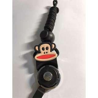 現貨 買2送調節扣 大嘴猴 造型多功能可拆卸時尚掛繩