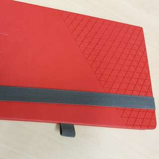 Stylish Notebook Red