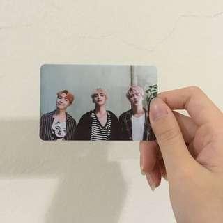 BTS MEMORIES 2016 PHOTOCARD