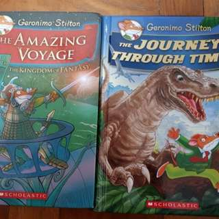 Geronimo Stilton Hard Cover Books
