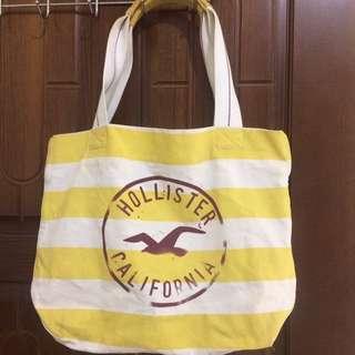 Hollister 帆布長型包