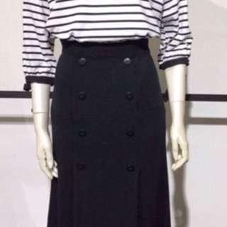 黑色針織裙