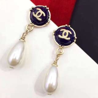 Authethentic Chanel A99039 Chanel Pearl drop earrings