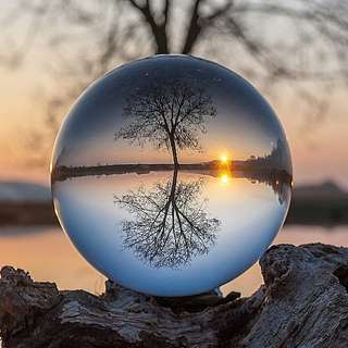 🔮Natural Quartz Clear Crystal Ball