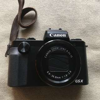 Canon G5X camera for sale