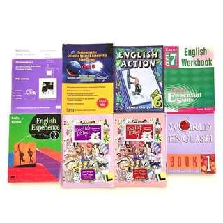 Primary / High School English Books & Dictionaries (English / Japanese)