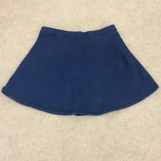 FACTORIE denim skater skirt