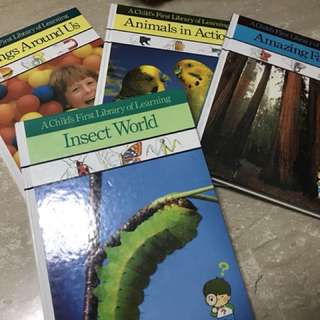 "Full set of ""Time-life : Child's first library of learning"""