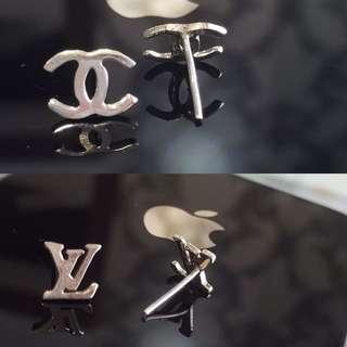 Chanel - 925 sterling silver Earring Studs
