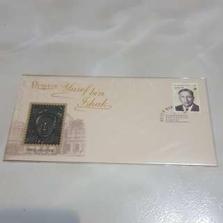 Serial No. 2288 Yusof Ishak Pewter First Day Cover