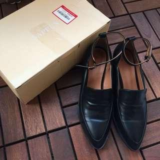 🚚 韓國購回🇰🇷sappun 尖頭踝環跟皮鞋