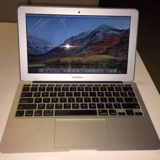 MacBook Air 11 Mid 2013 256GB Flash (4 RAM)
