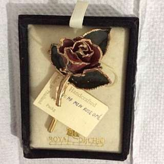 VINTAGE BROOCH - ROSE 🌹
