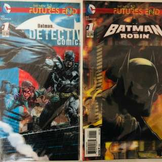 New 52 Futures End Batman and Robin #1, Detective Comics #1