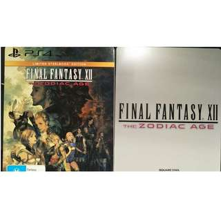 PS4: Final Fantasy 12 Limited Edition
