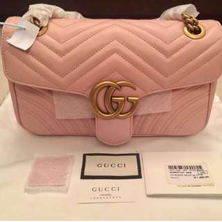 SALE!!!!! Gucci Marmont Matelasse Flap 2way strap