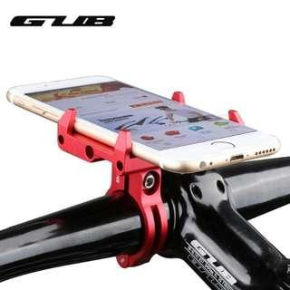 🆕! Aluminum Red Anodized Handphone Hp Holder