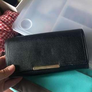 Forever21 black wallet