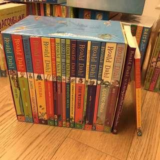 Roald Dahl box set 95% new