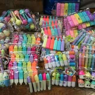 Kawaii high lighters (set of 6pcs) NOT ASSORTED