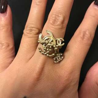 80% New CHANEL ring