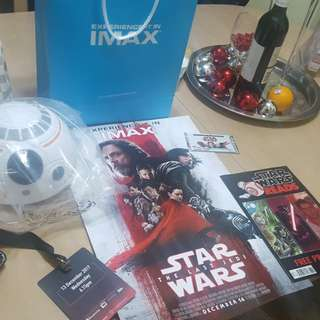 Star Wars Last Jedi Early Access Goodies