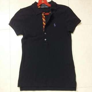 BN Authentic Black Ralph Lauren Skinny Polo T Shirt