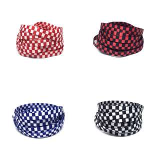 Checkered Shoe Laces for Vans shoelaces