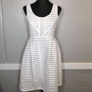 White party dress - size: M