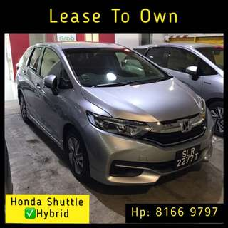 Lease To Own - Honda Shuttle Hybrid