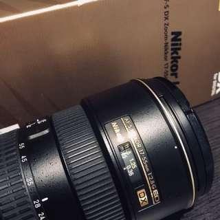 Nikon 17-55mm f2.8G ED