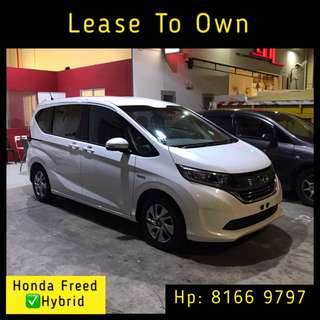 Lease To Own - Honda Freed Hybrid