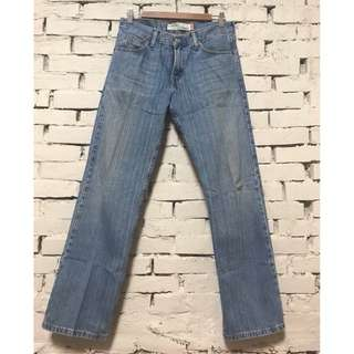 Levis 529 牛仔褲/男/29腰