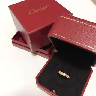 Cartier classic ring 戒指