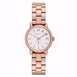 BN Marc Jacobs MBM3248 Women's Mini Baker Rose Gold Stainless Steel Watch [FINAL CLEARANCE NON NEGO]