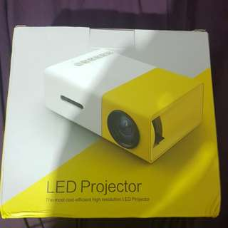 Led Projector. Compact high resolution