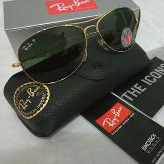NEGOTIABLE!!! Ray-Ban Sunglass RB3362 001/58