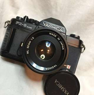 YASHICA FX3 SUPER & 50mm lens