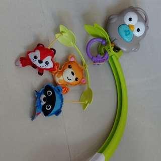 Fishprice嬰兒床音樂吊飾