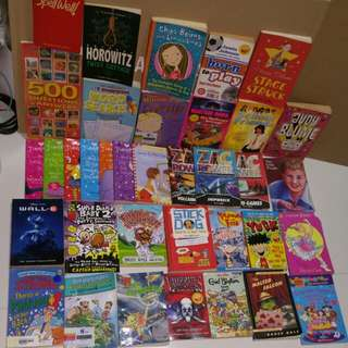 Young children books easier to read varying standard / level interesting reads