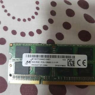 DDR3 rams 8gb for laptop