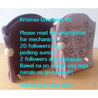 Krismas giveaway #2