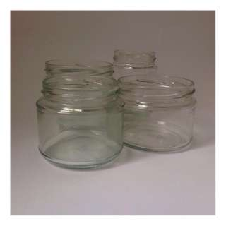 Assortment of Glass Jars (without lids)