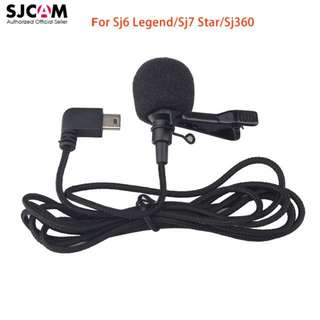 SJCAM Short External Microphone with Clip For SJ6 LEGEND SJ7 STAR ACTION CAMERA