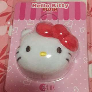 Hello kitty ezlink charm (red)