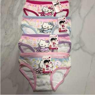 Toddler hello kitty girl panties