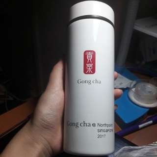 Gongcha limited thermo bottle