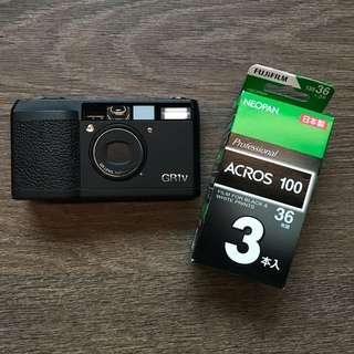 135 35mm film Fujifilm Acros 100 bnw